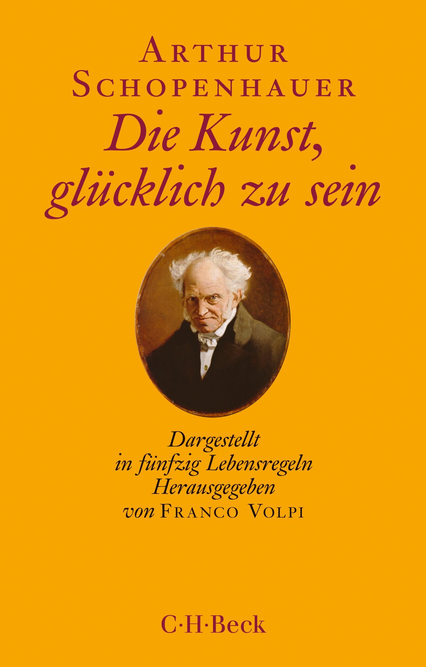 Cover des Buches 'Die Kunst, glücklich zu sein'