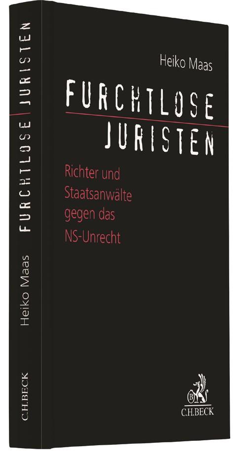 Cover des Buches 'Furchtlose Juristen'
