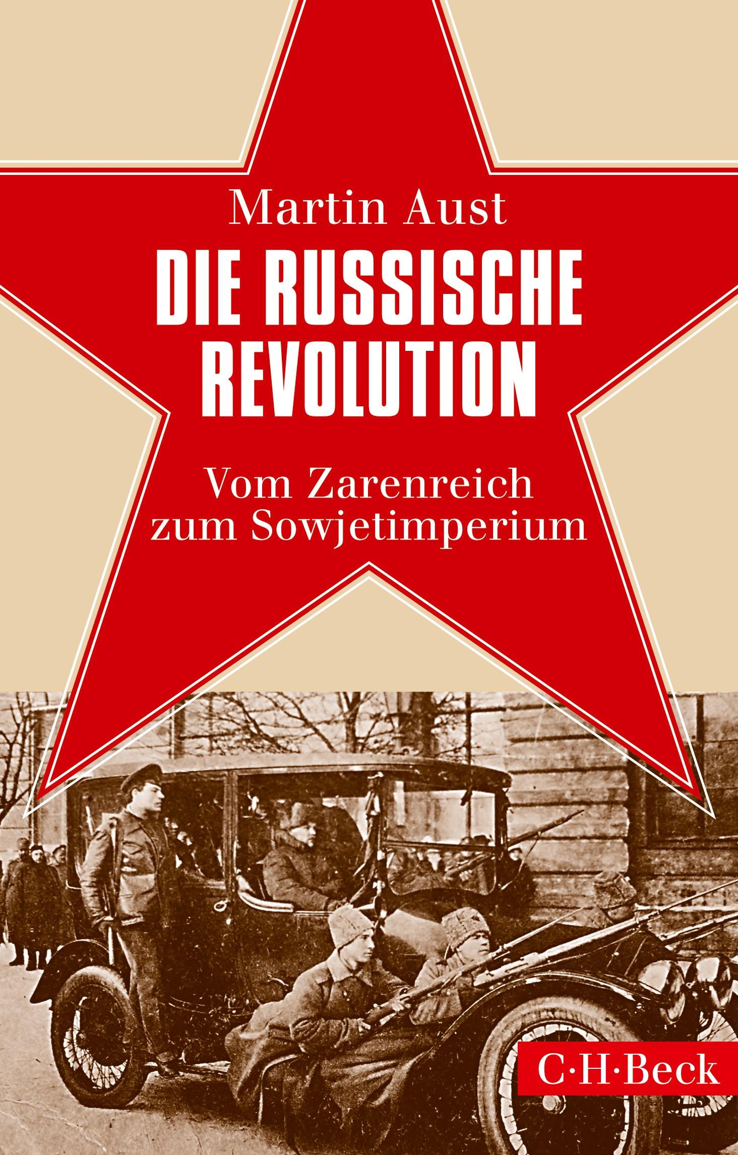 Cover des Buches 'Die Russische Revolution'