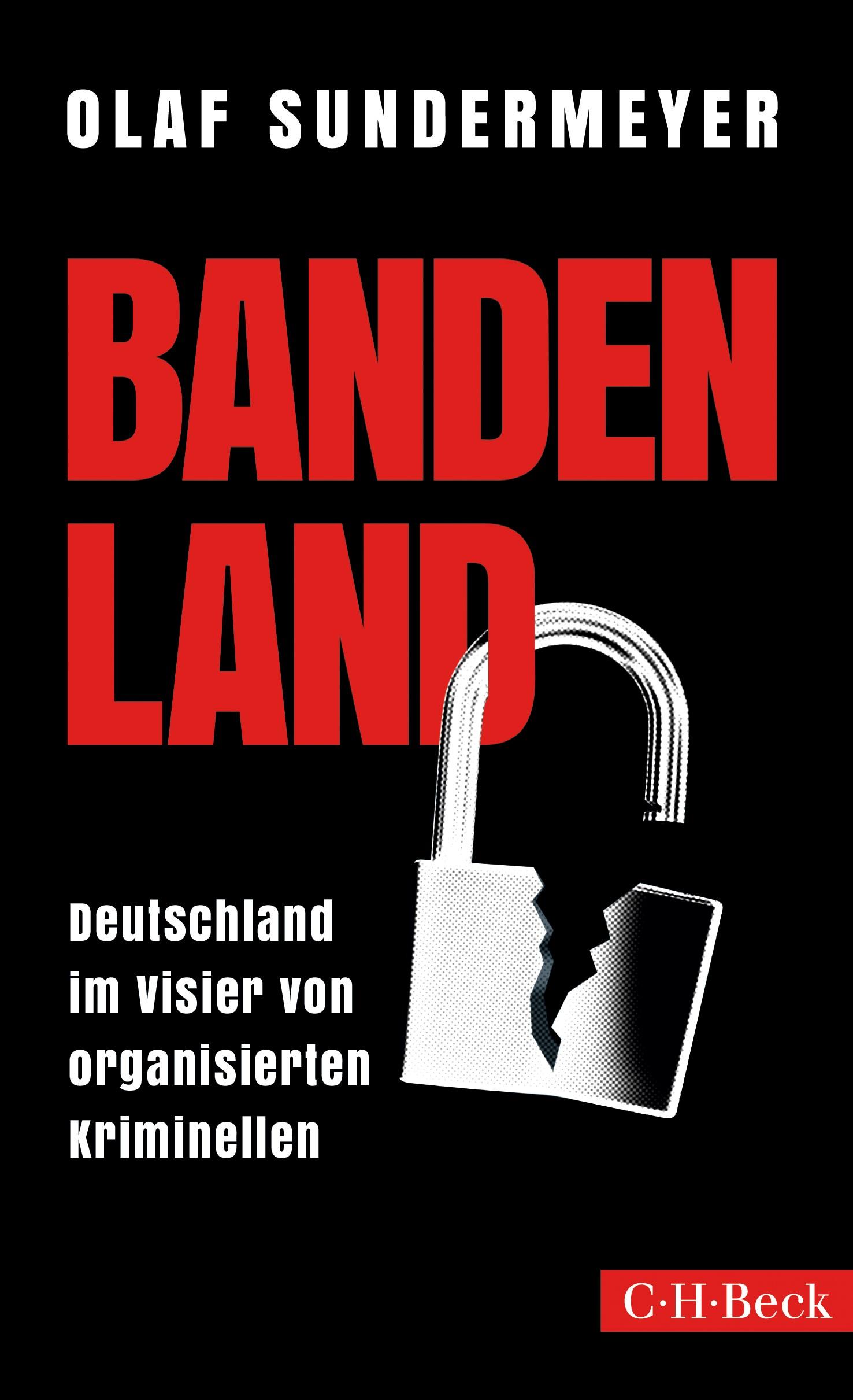 Cover des Buches 'Bandenland'