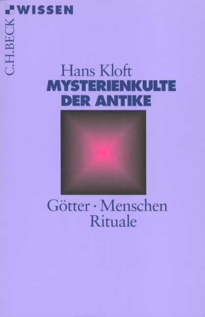 Cover des Buches 'Mysterienkulte der Antike'