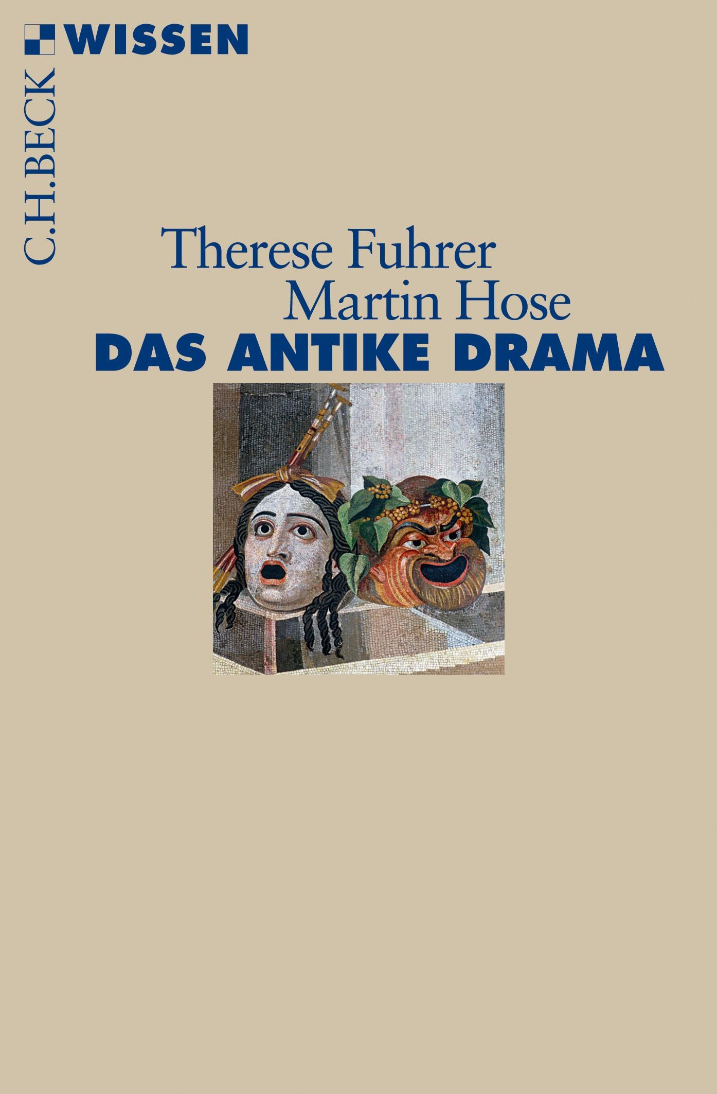 Cover des Buches 'Das antike Drama'