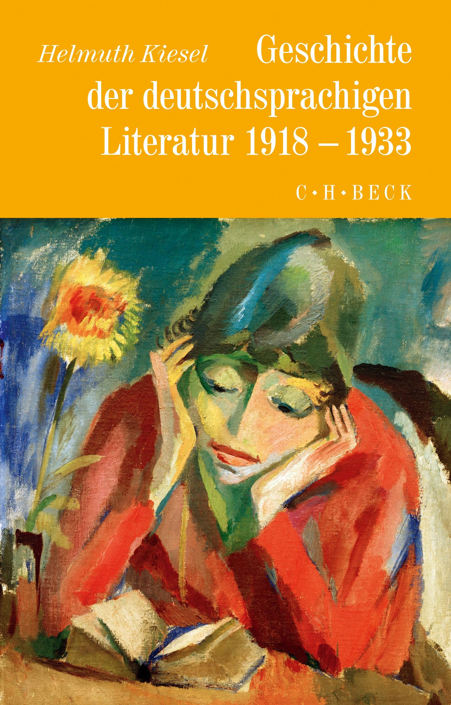 Cover des Buches 'Geschichte der deutschen Literatur  Bd. 10: Geschichte der deutschsprachigen Literatur von 1918 bis 1933'