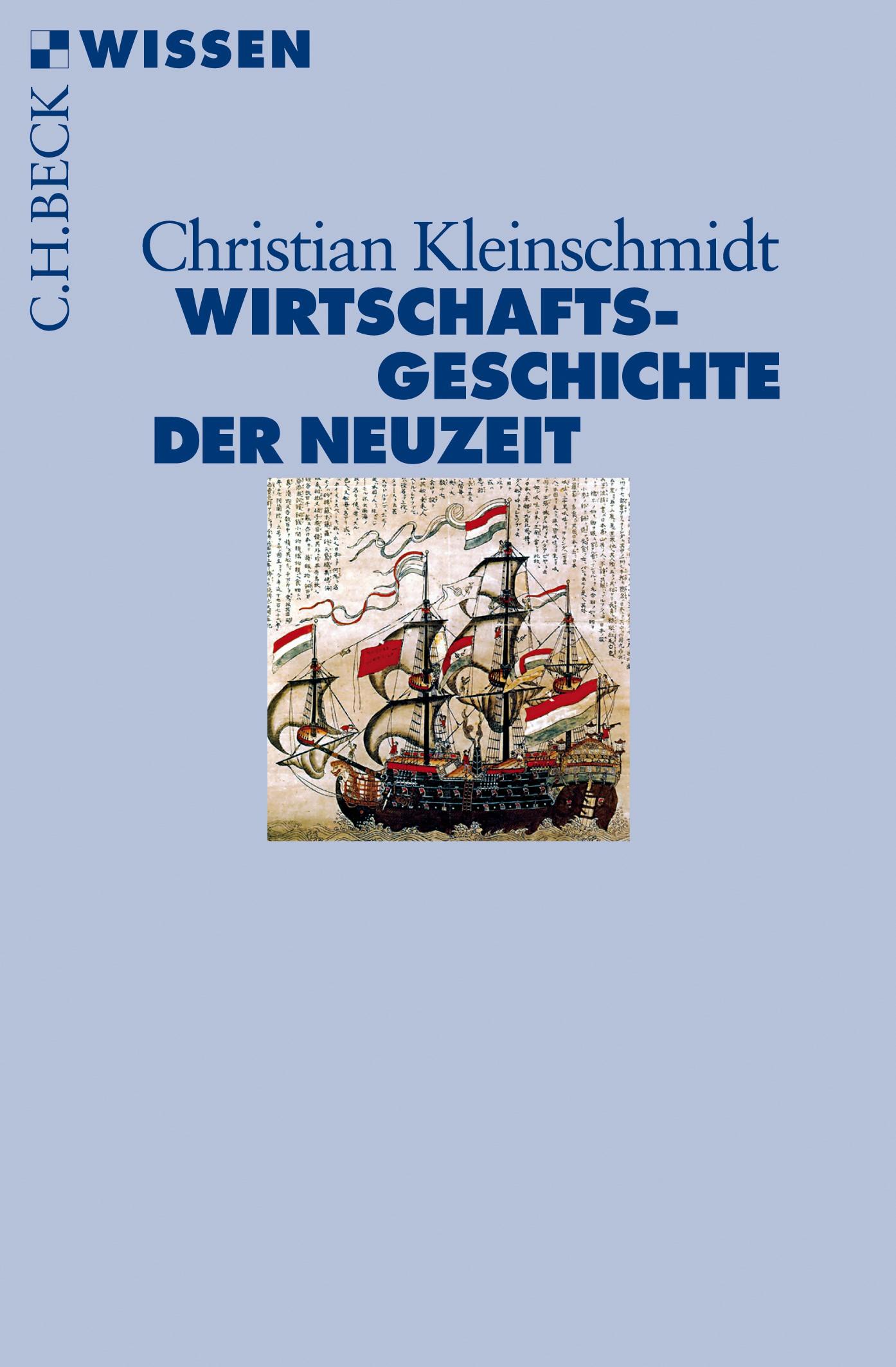 Cover des Buches 'Wirtschaftsgeschichte der Neuzeit'