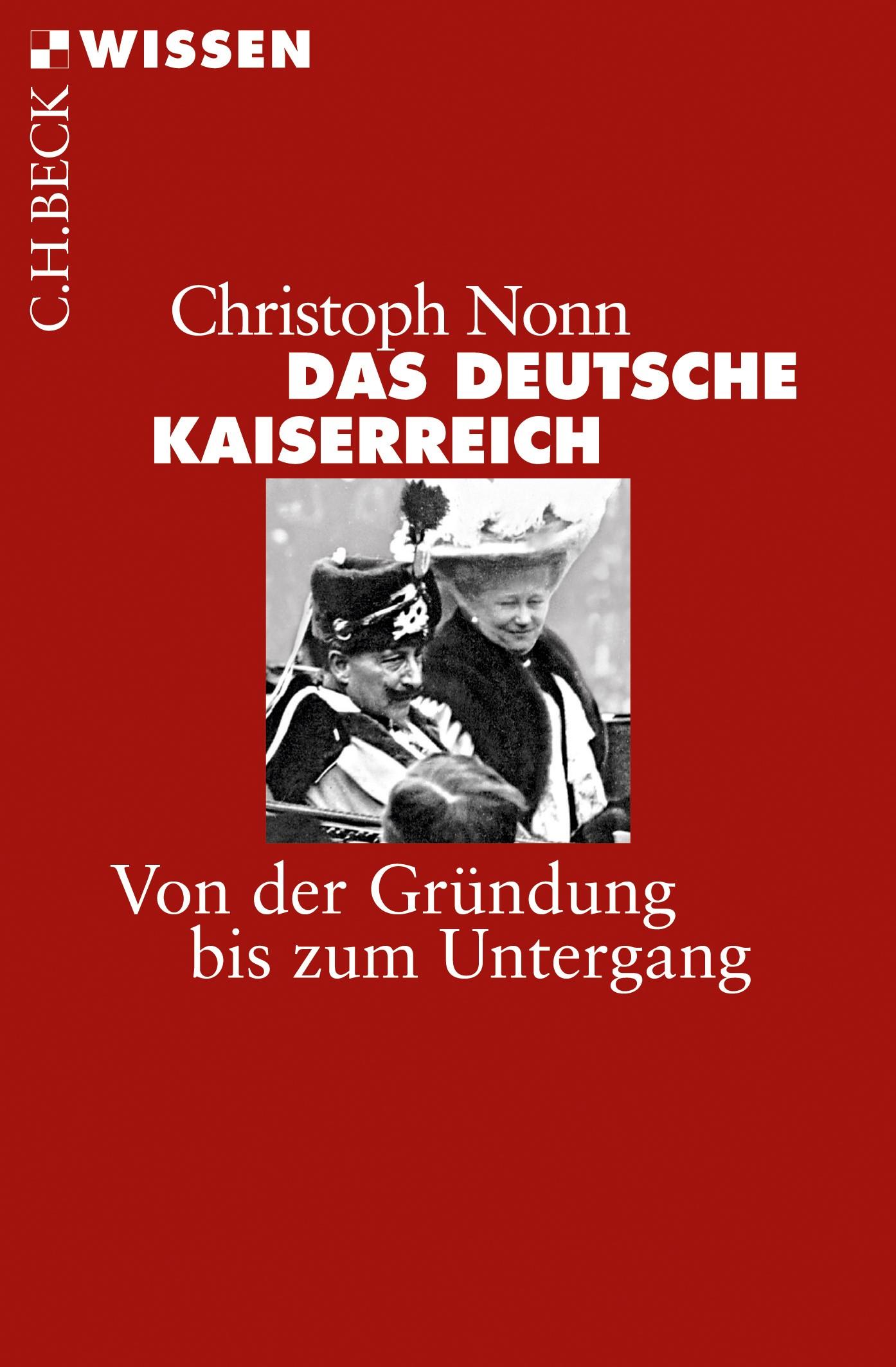 Cover des Buches 'Das deutsche Kaiserreich'