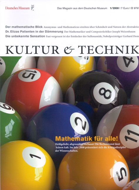 Cover des Buches 'Kultur & Technik'