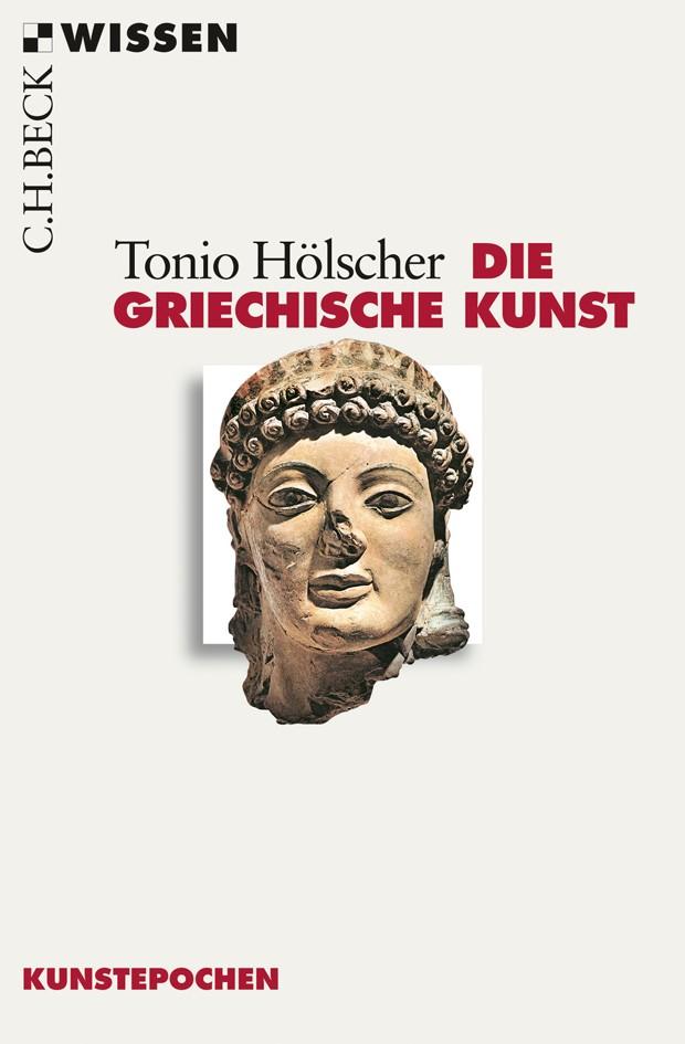 Cover des Buches 'Die griechische Kunst'