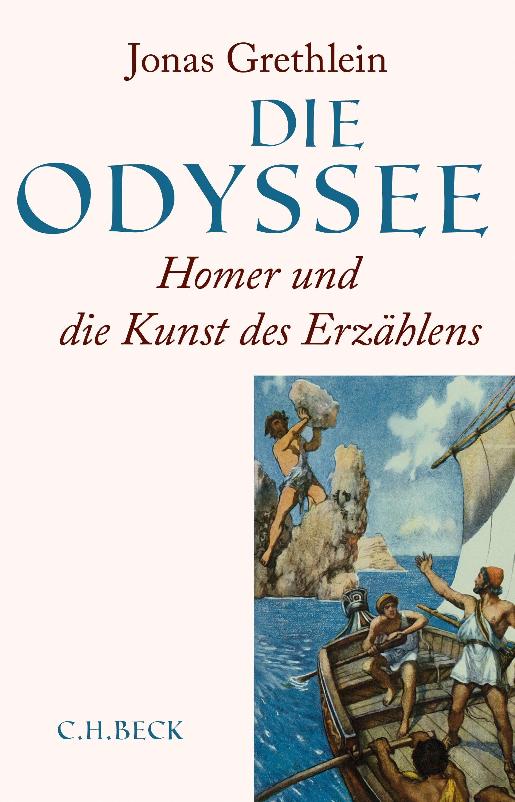 Cover des Buches 'Die Odyssee'