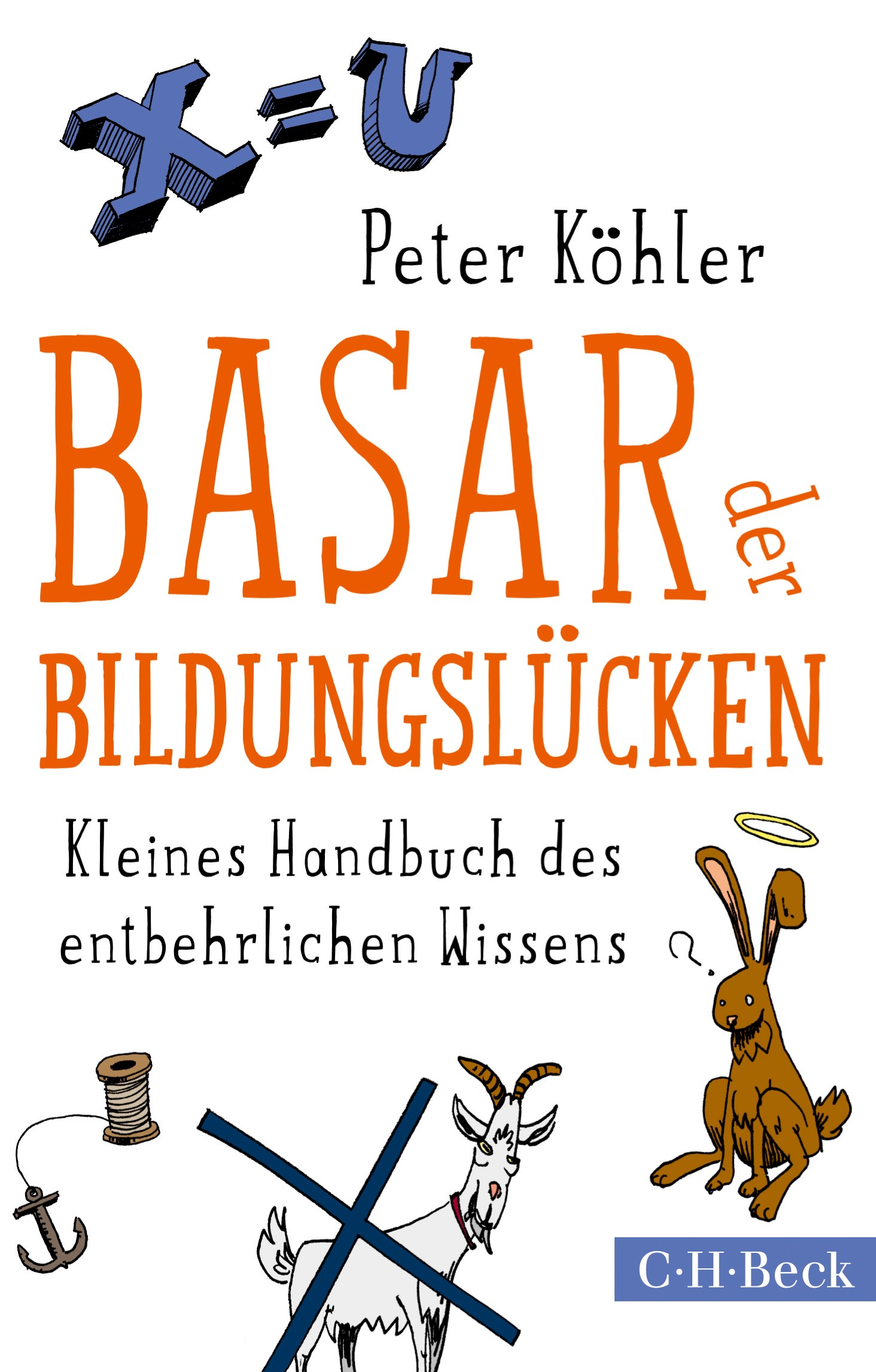 Cover des Buches 'Basar der Bildungslücken'
