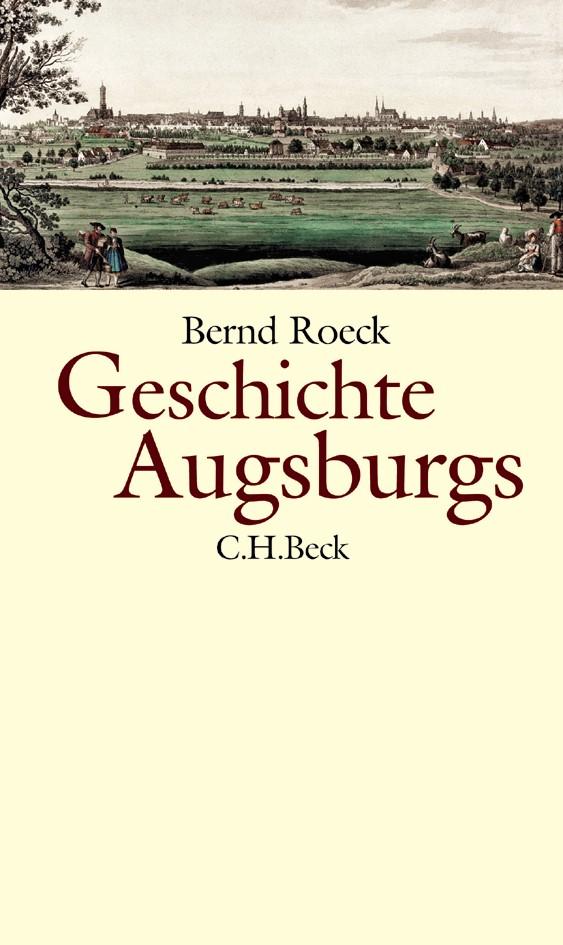 Cover des Buches 'Geschichte Augsburgs'