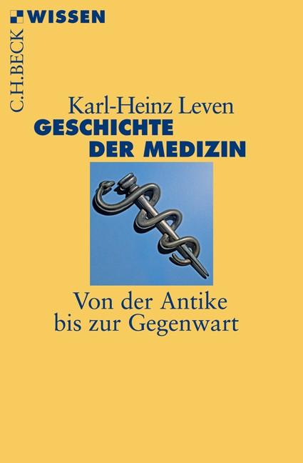 Cover des Buches 'Geschichte der Medizin'
