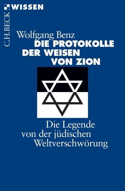 Cover des Buches 'Die Protokolle der Weisen von Zion'
