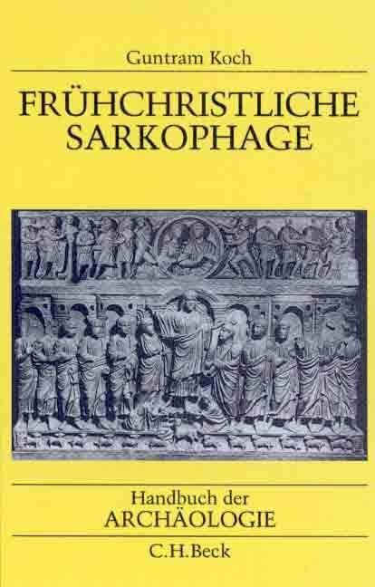 Cover des Buches 'Frühchristliche Sarkophage'