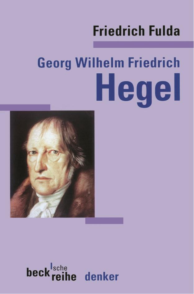 Cover des Buches 'G. W. F. Hegel'