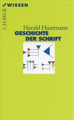 Cover des Buches 'Geschichte der Schrift'