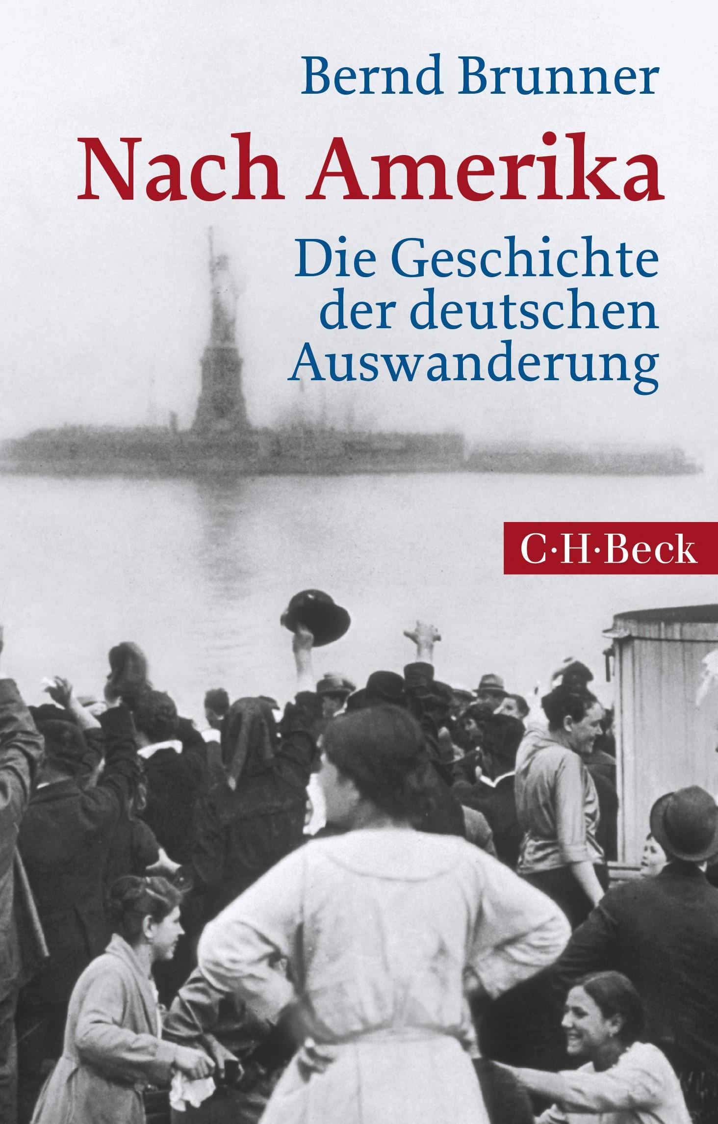 Cover des Buches 'Nach Amerika'