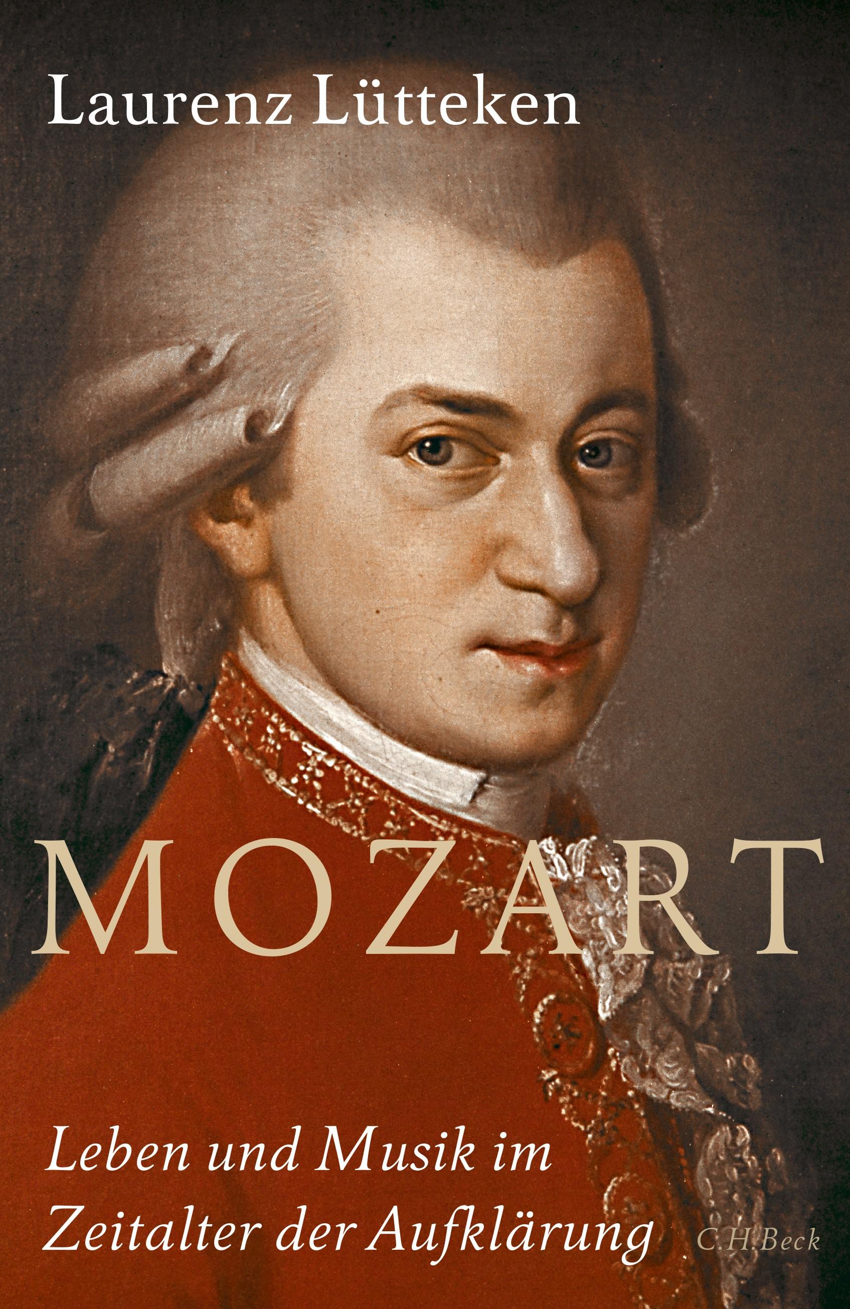 Cover des Buches 'Mozart'