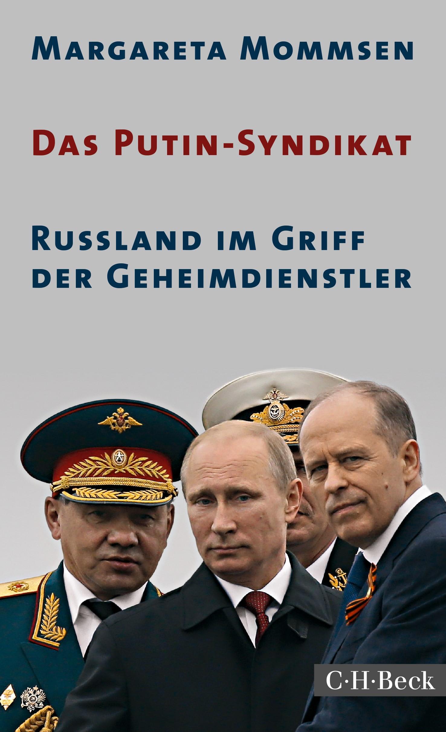 Cover des Buches 'Das Putin-Syndikat'