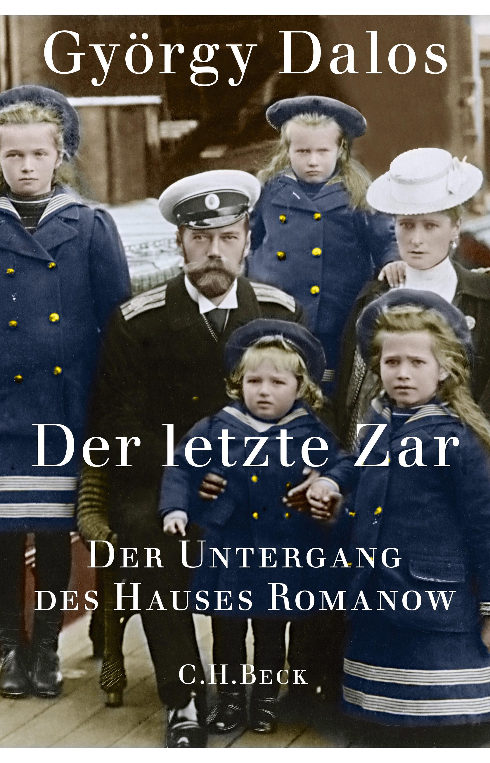 Cover des Buches 'Der letzte Zar'