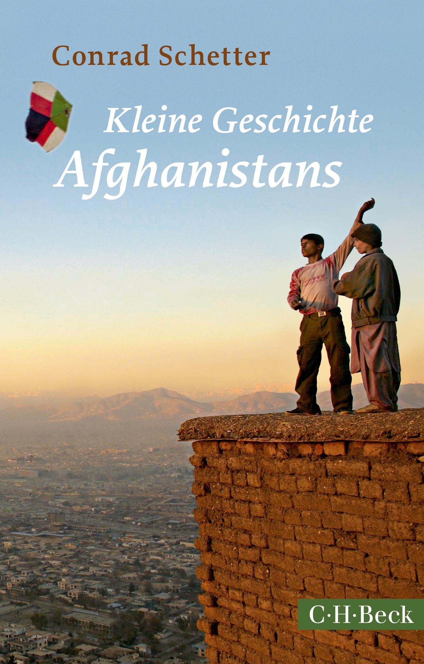 Cover des Buches 'Kleine Geschichte Afghanistans'