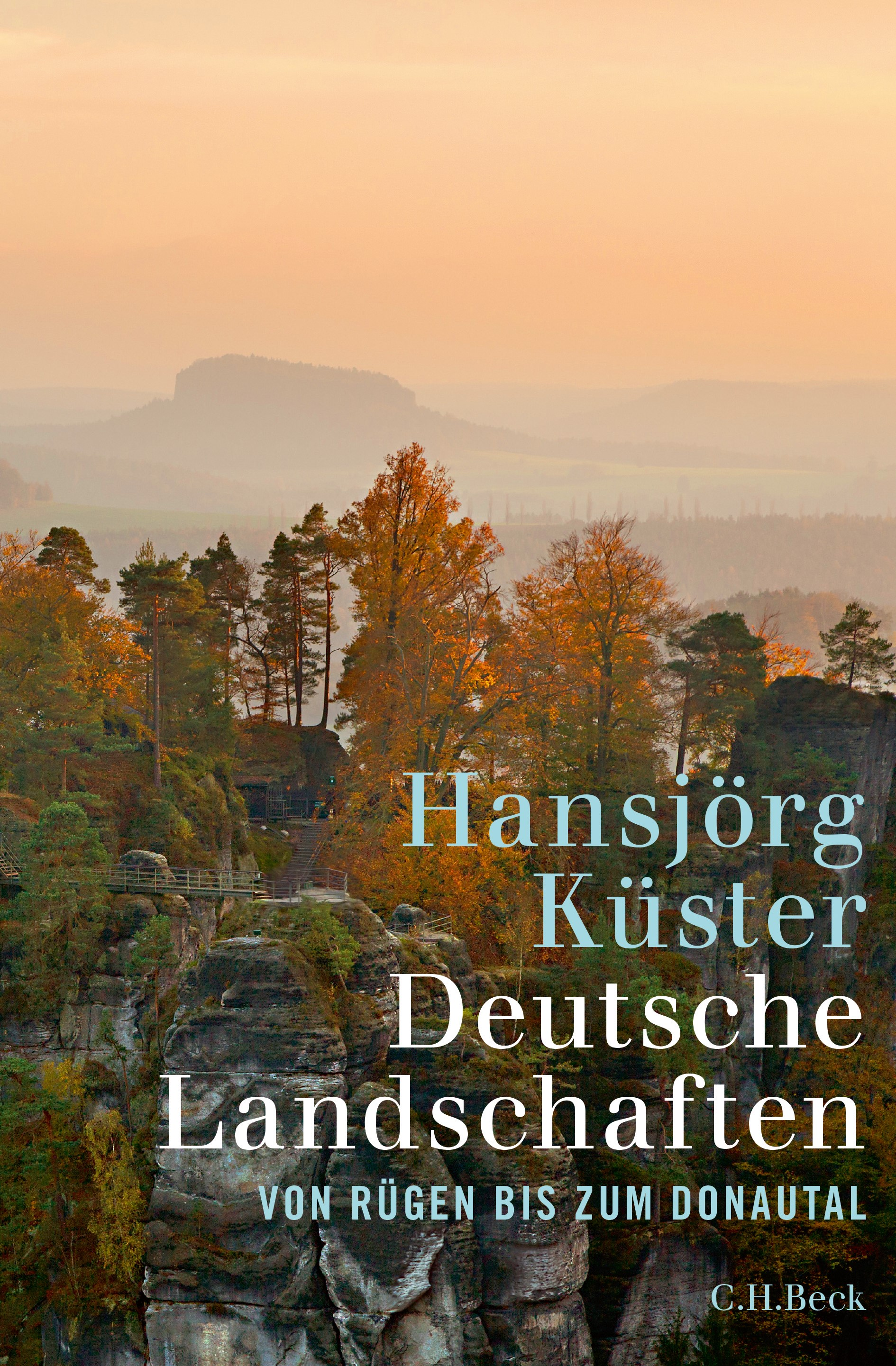Cover des Buches 'Deutsche Landschaften'