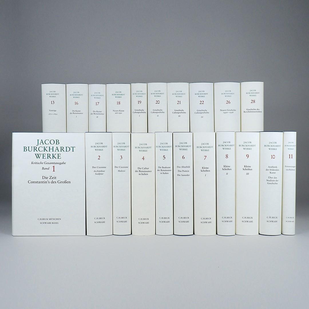 Cover des Buches 'Jacob Burckhardt Werke'