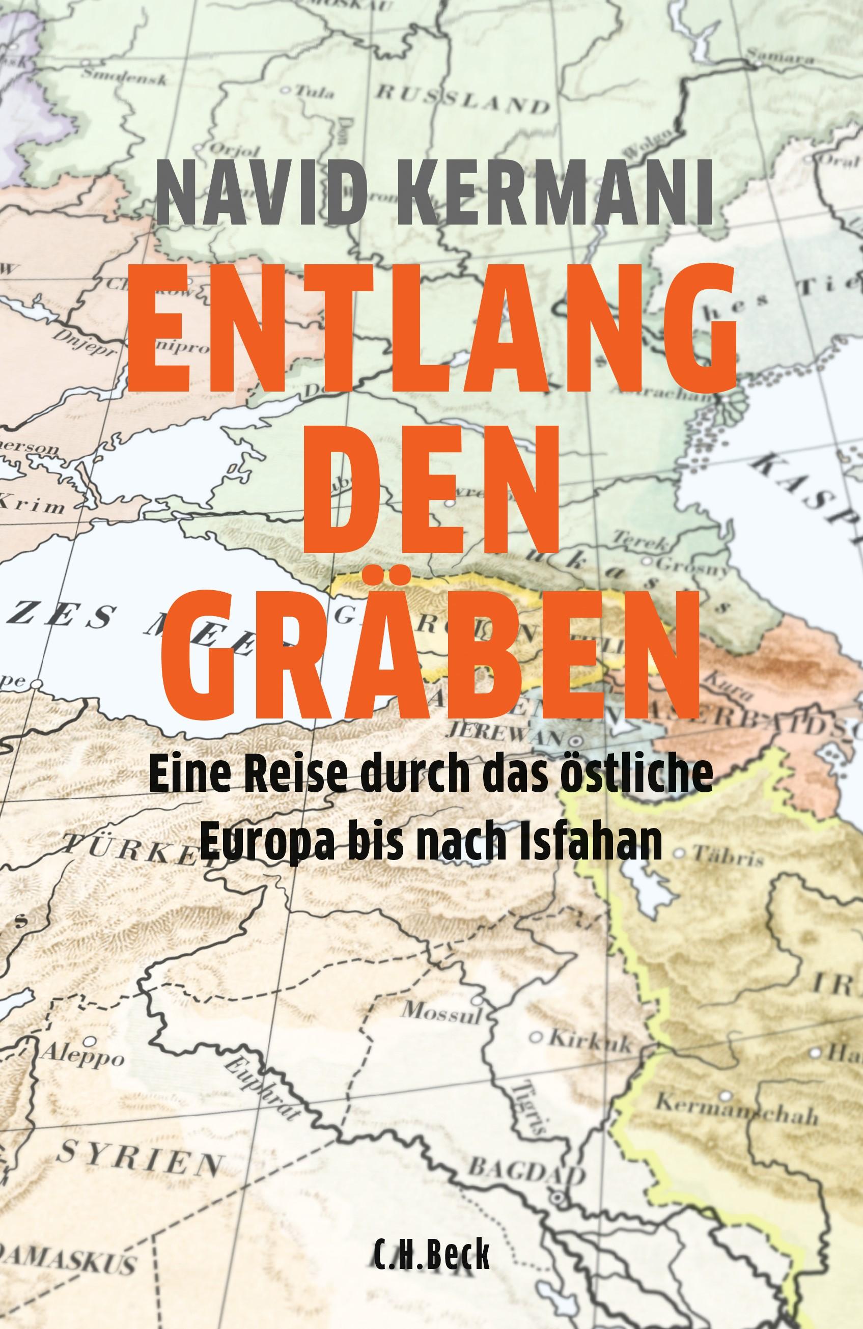 Cover des Buches 'Entlang den Gräben'