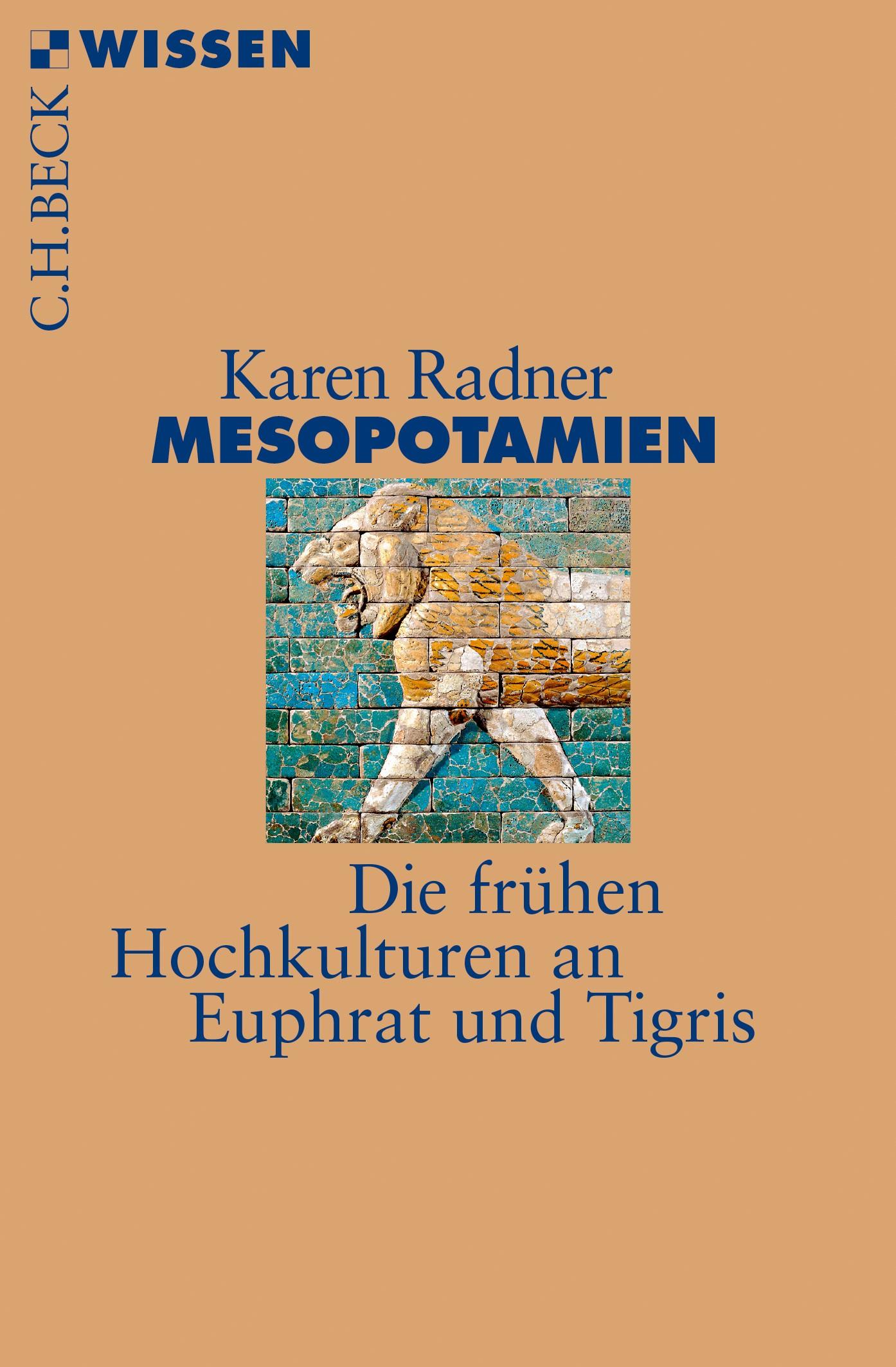 Cover des Buches 'Mesopotamien'