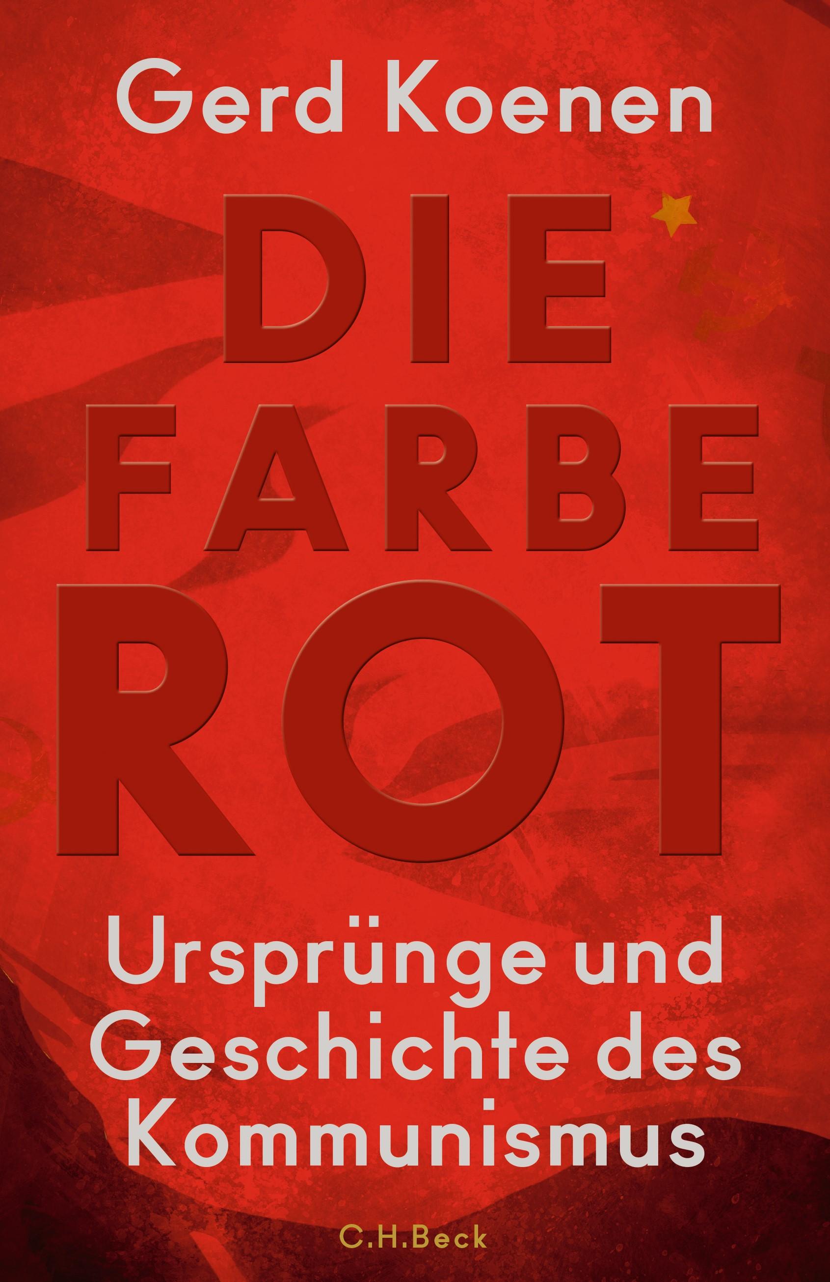 Cover des Buches 'Die Farbe Rot'