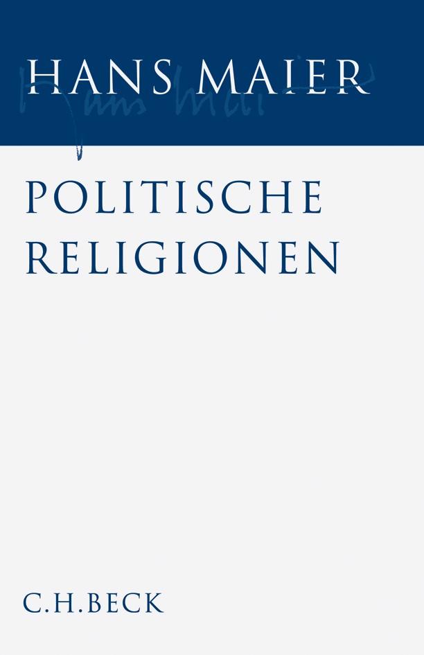 Cover des Buches 'Gesammelte Schriften, Band 2: Politische Religionen'