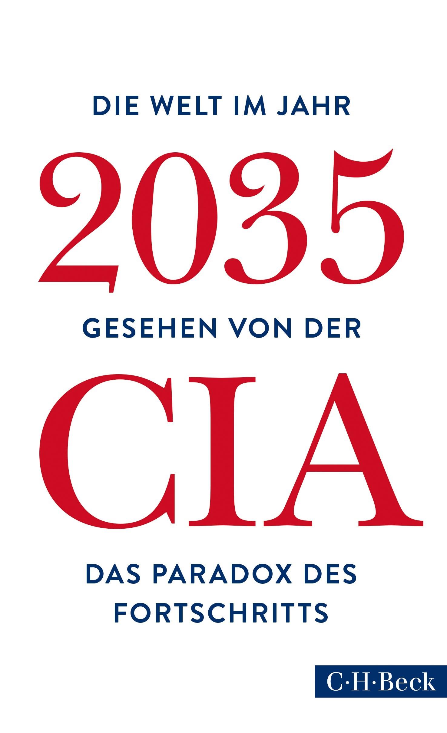 Cover des Buches 'Die Welt im Jahr 2035'