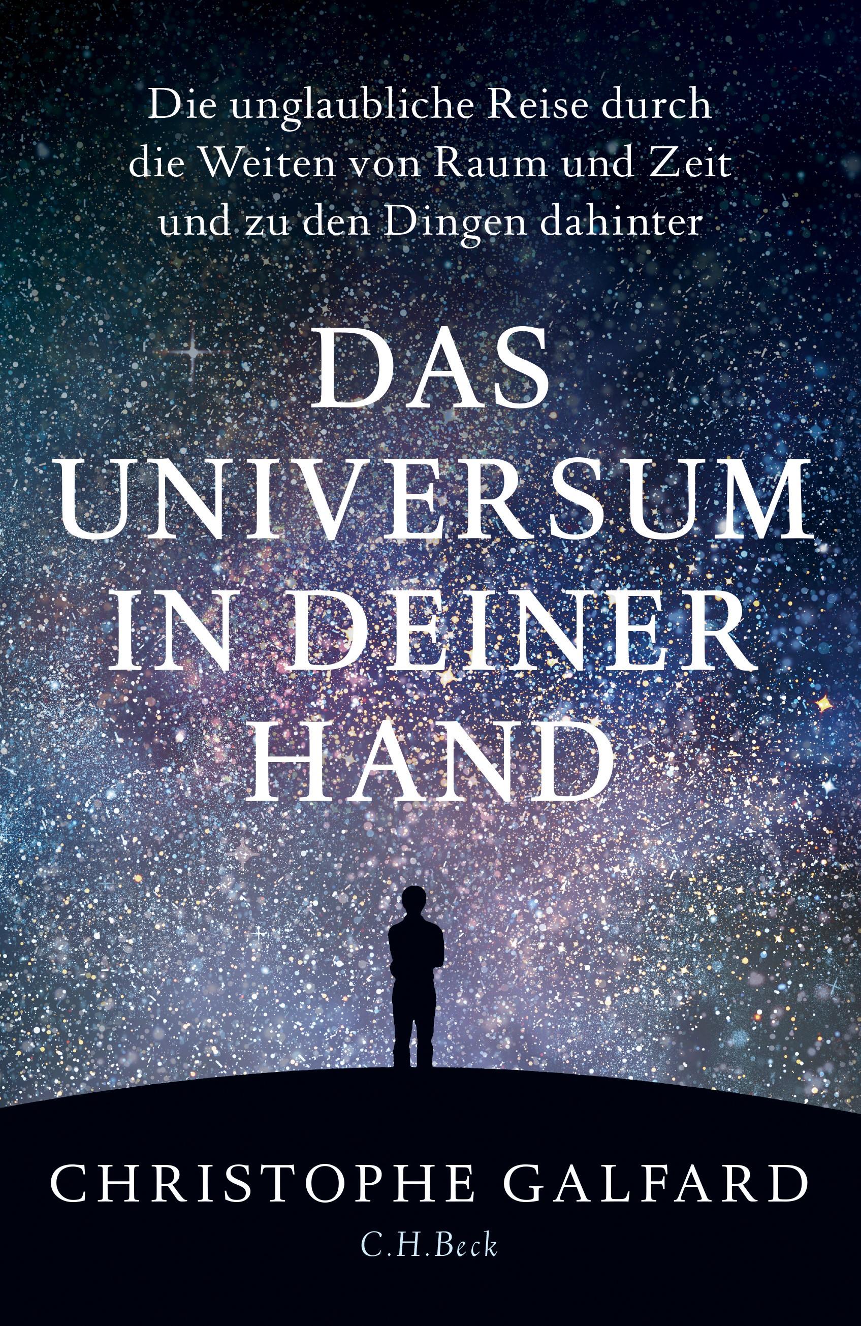 Cover des Buches 'Das Universum in deiner Hand'