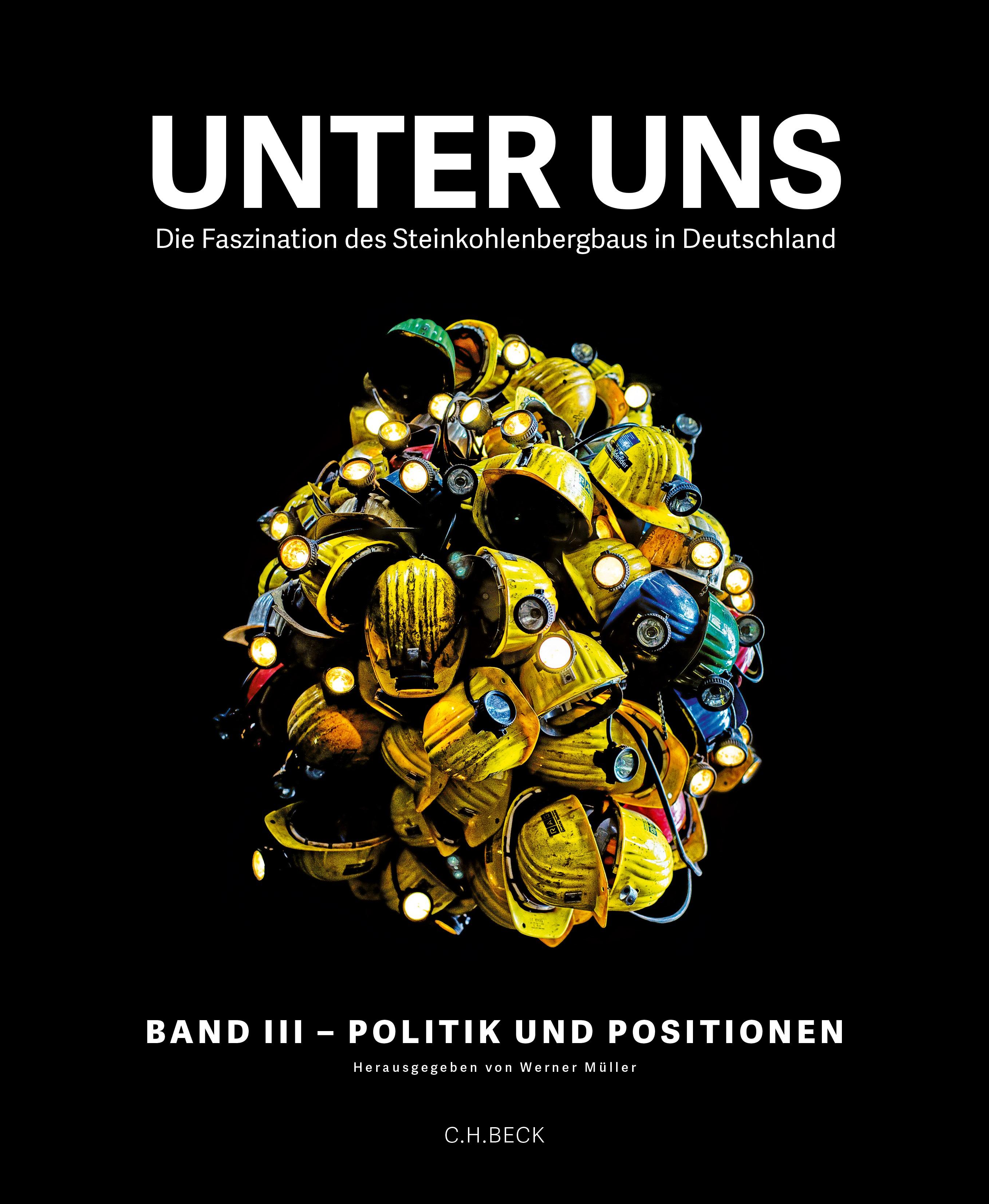 Cover des Buches 'Unter uns  Band III: Politik und Positionen'