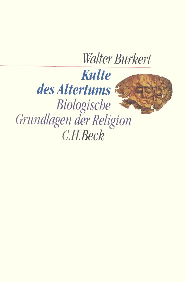 Cover des Buches 'Kulte des Altertums'