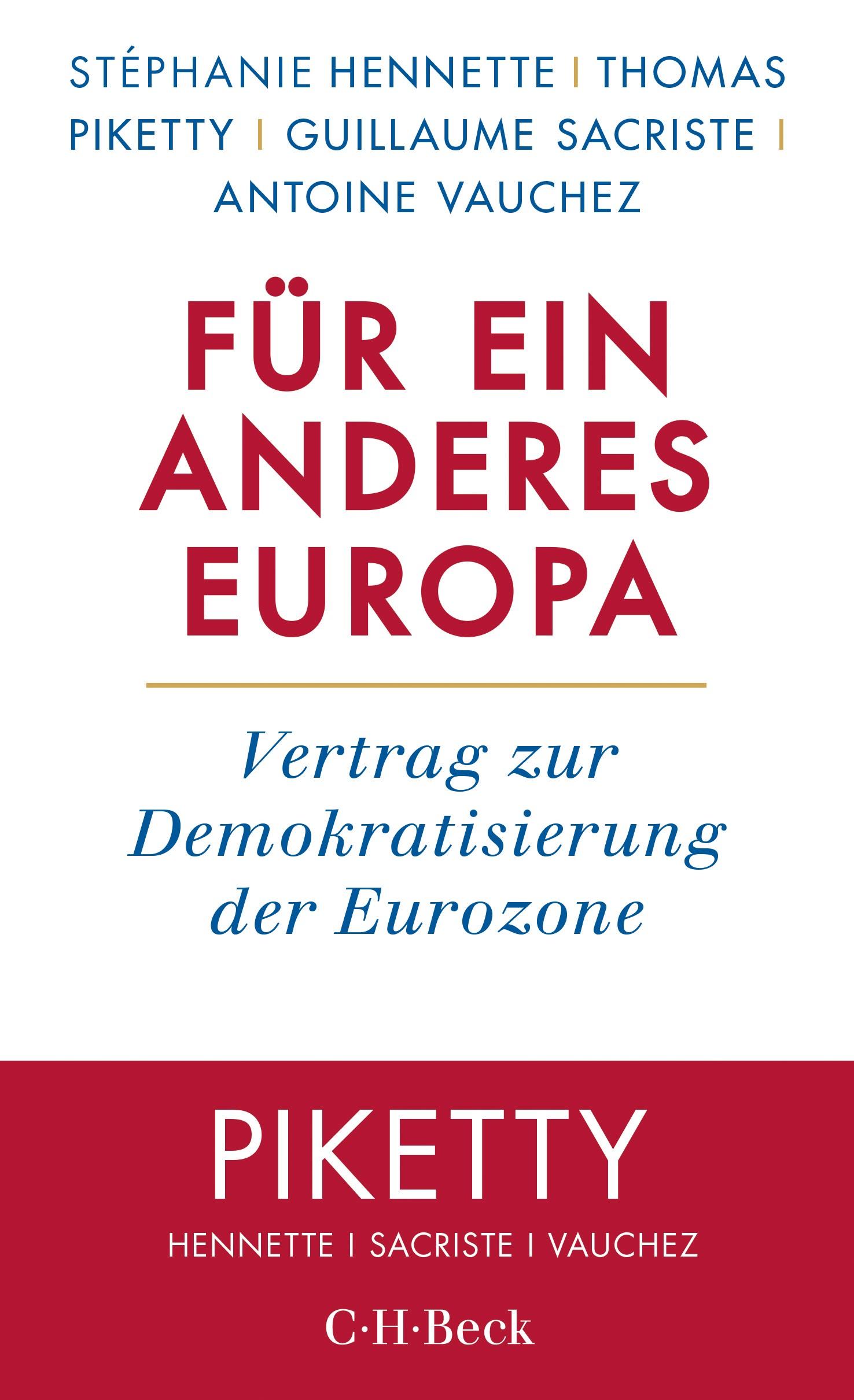 Cover des Buches 'Für ein anderes Europa'