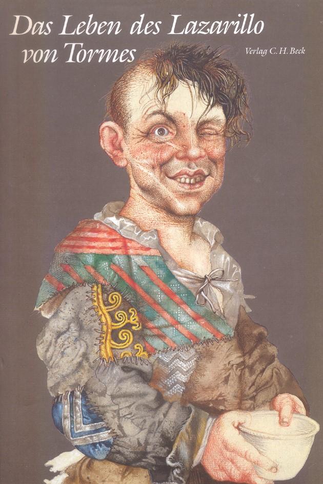Cover des Buches 'Das Leben des Lazarillo von Tormes'