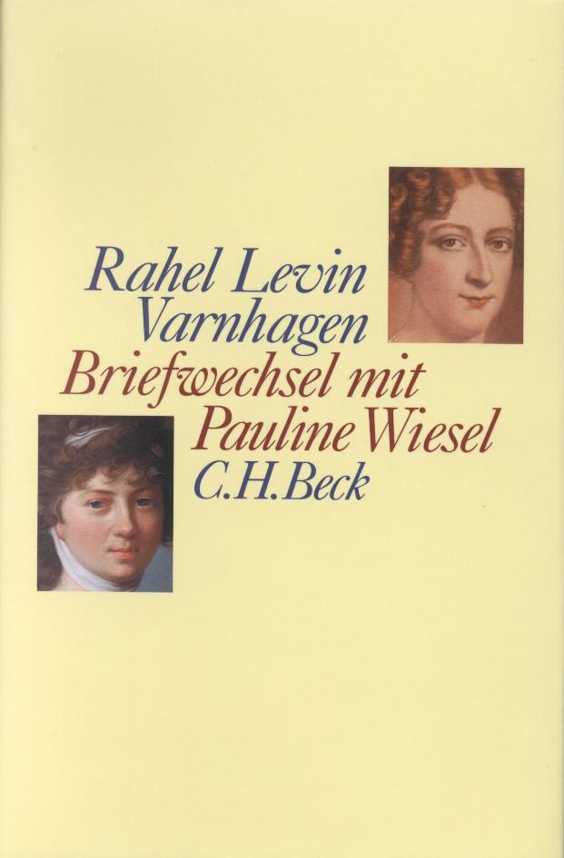 Cover des Buches 'Briefwechsel mit Pauline Wiesel'