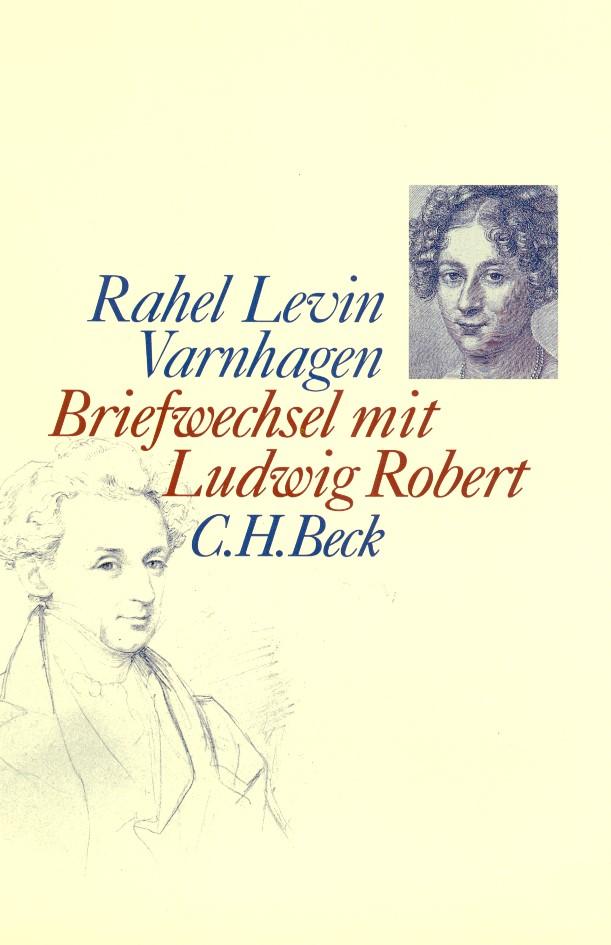 Cover des Buches 'Briefwechsel mit Ludwig Robert'