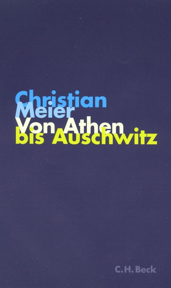 Cover des Buches 'Von Athen bis Auschwitz'