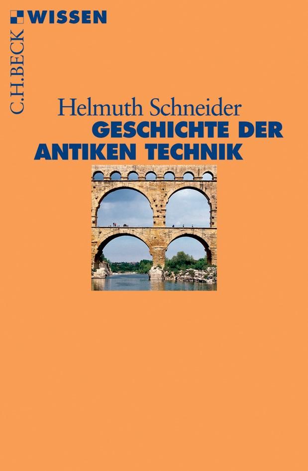 Cover des Buches 'Geschichte der antiken Technik'