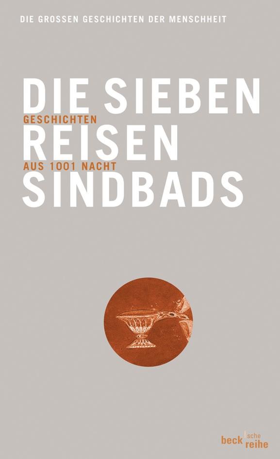 Cover des Buches 'Die sieben Reisen Sindbads'