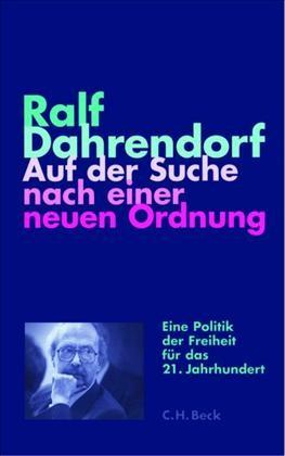 Cover des Buches 'Auf der Suche nach einer neuen Ordnung'