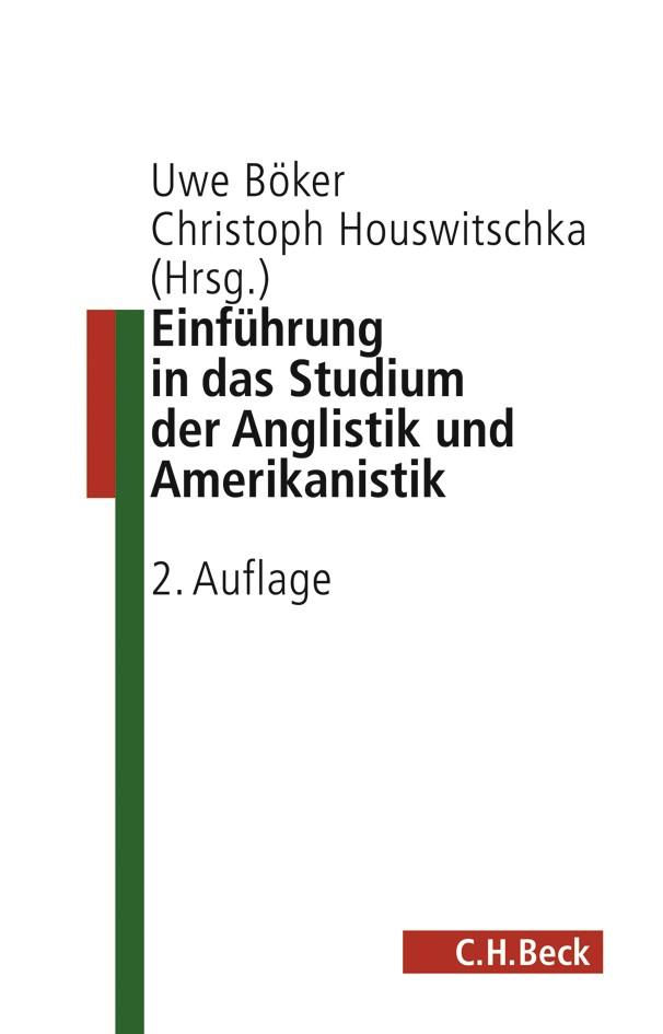 Cover des Buches 'Einführung in die Anglistik und Amerikanistik'