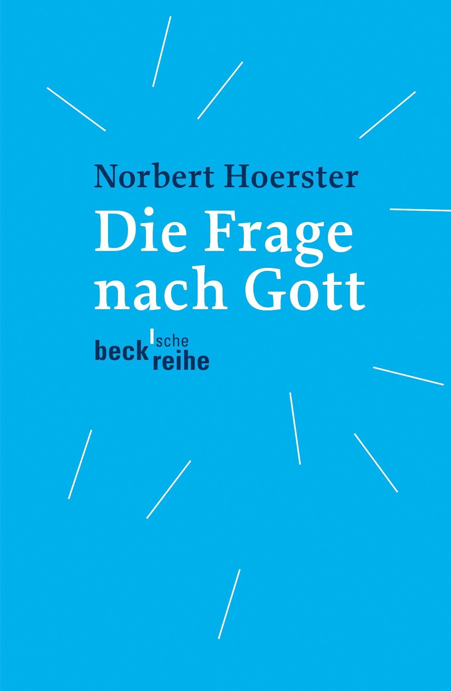 Cover des Buches 'Die Frage nach Gott'