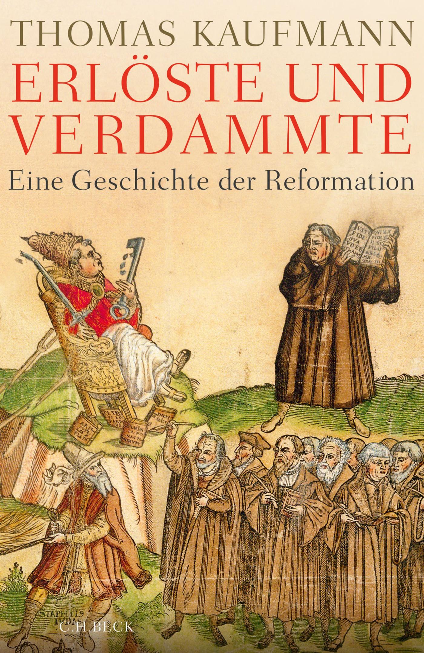 Cover des Buches 'Erlöste und Verdammte'