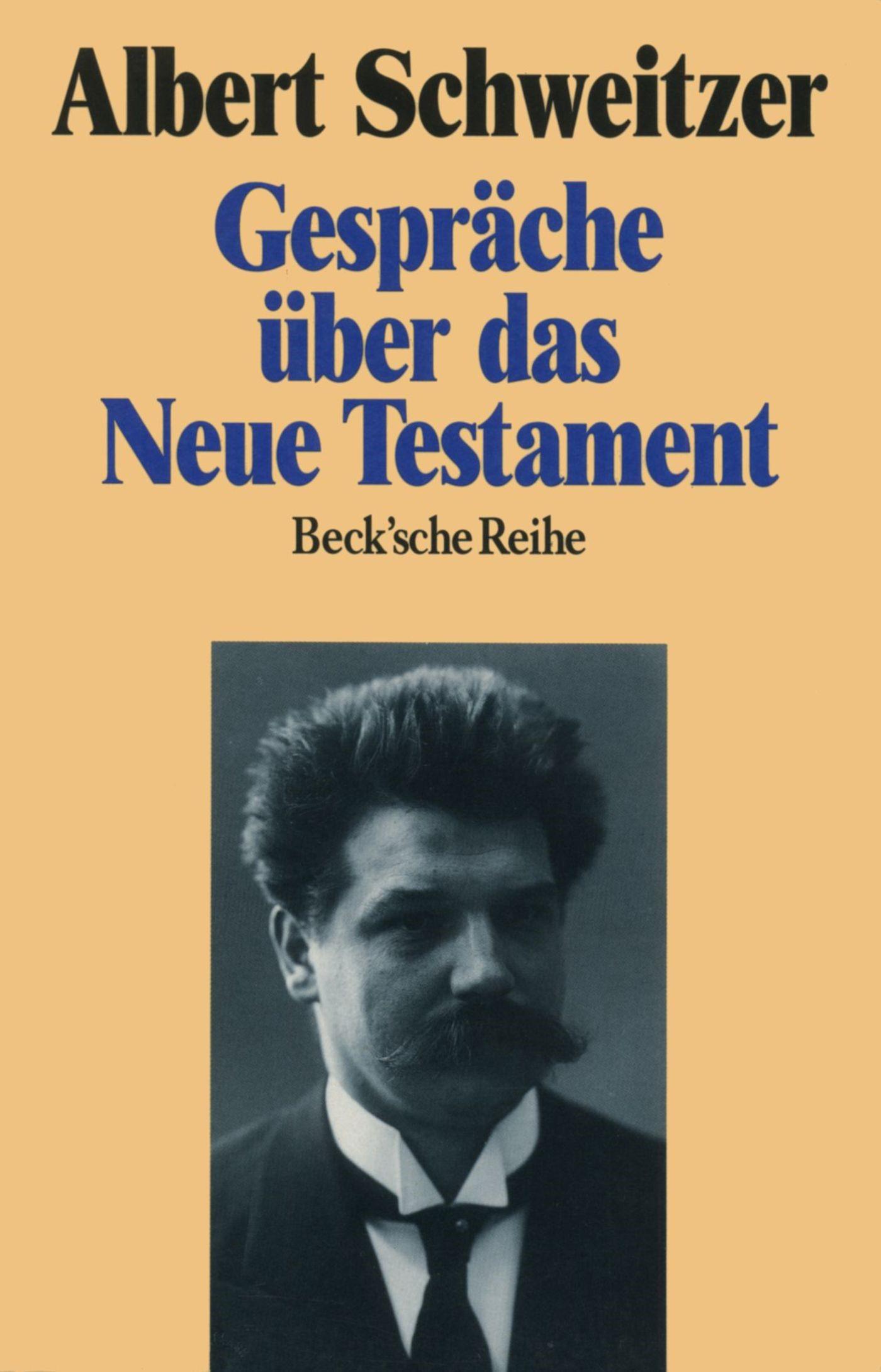Cover des Buches 'Gespräche über das Neue Testament'
