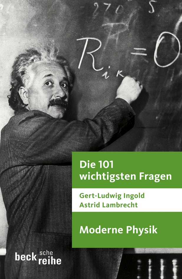 Cover des Buches 'Die 101 wichtigsten Fragen - Moderne Physik'