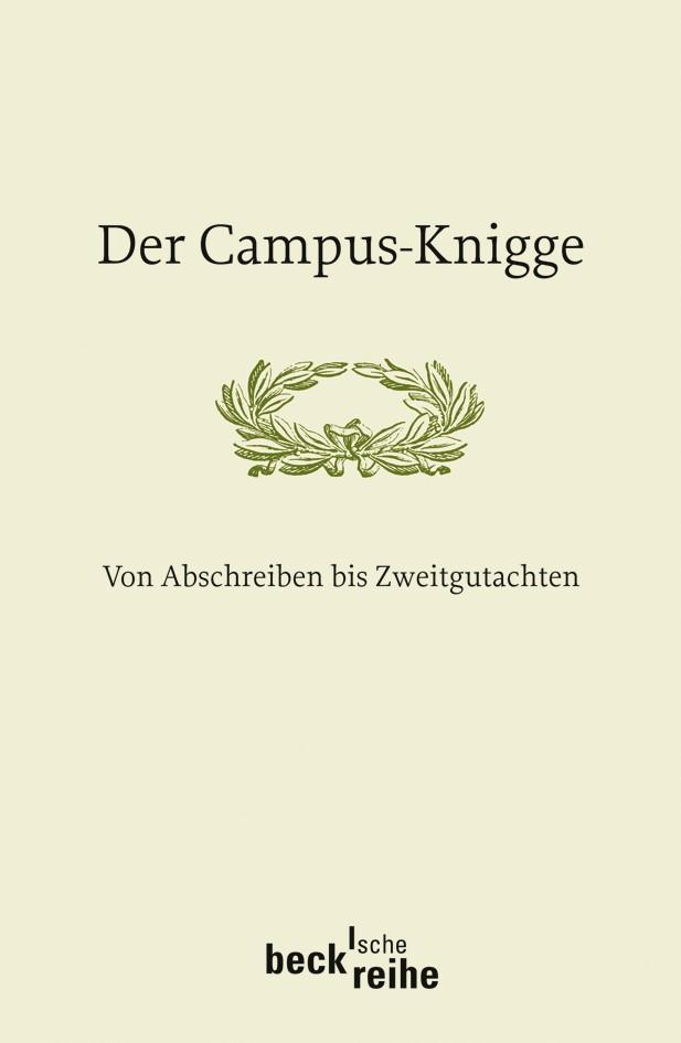 Cover des Buches 'Der Campus-Knigge'