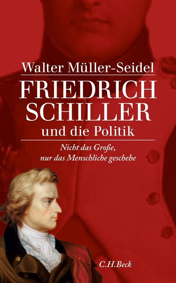 Cover des Buches 'Friedrich Schiller und die Politik'