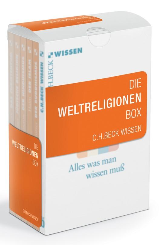 Cover des Buches 'Die Weltreligionen Box'